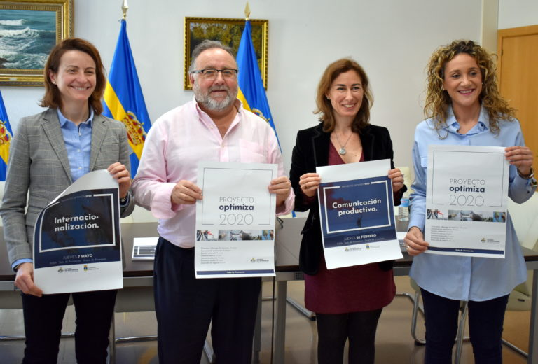 El Ayuntamiento lanza el Proyecto Optimiza para la formación y consultoría del tejido empresarial