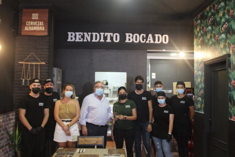 """Visita institucional de """"Bendito Bocado"""", un nuevo establecimiento de hamburguesas gourmet"""
